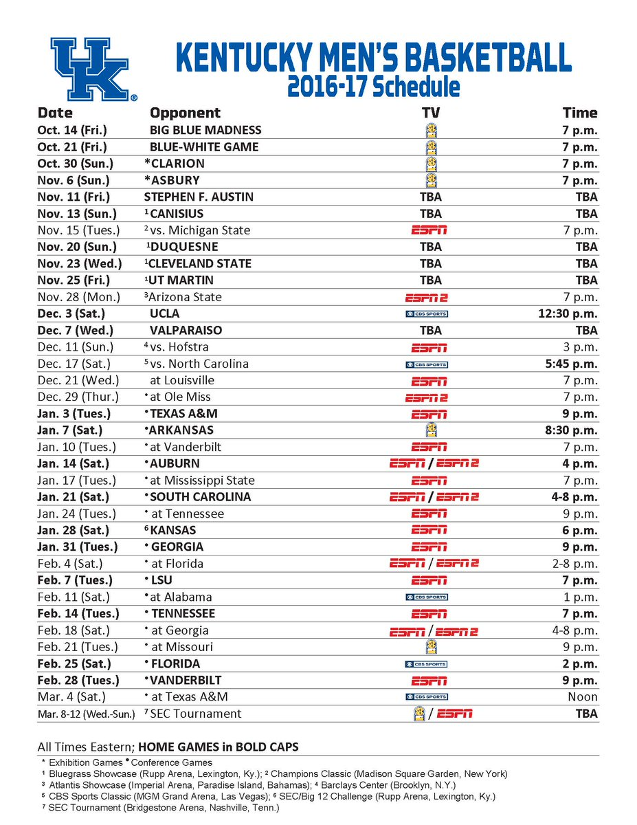 It is a photo of Peaceful Uk Basketball Printable Schedule
