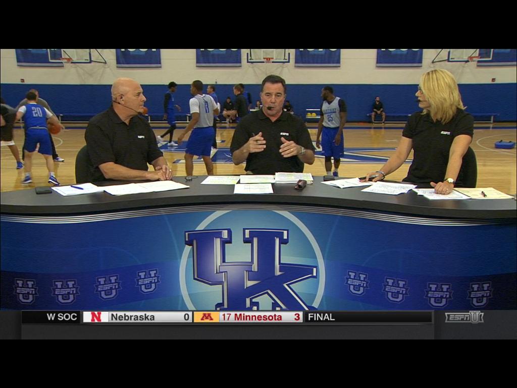 Uk Basketball: Watch Kentucky Practice On ESPNU