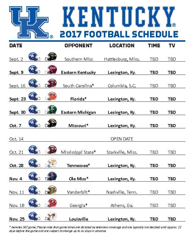 Unforgettable image with kentucky basketball schedule printable