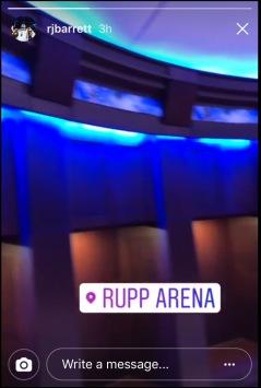 Rj Barrett on Instagram