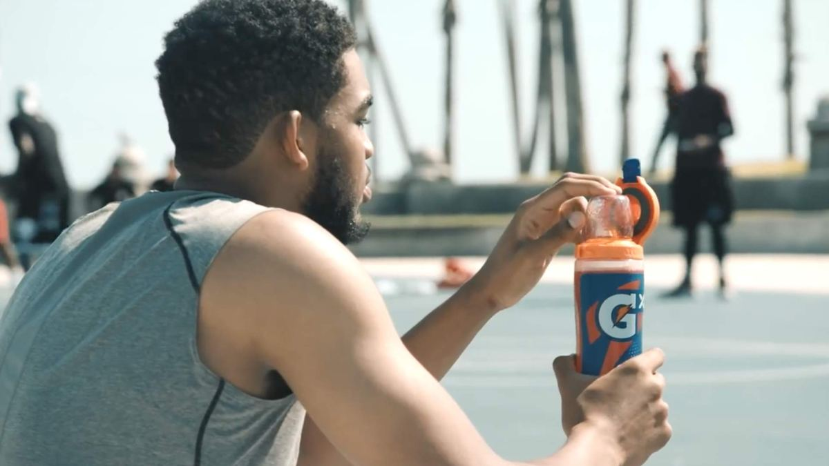 Karl-Anthony Towns Stars in Latest Gatorade Commercial