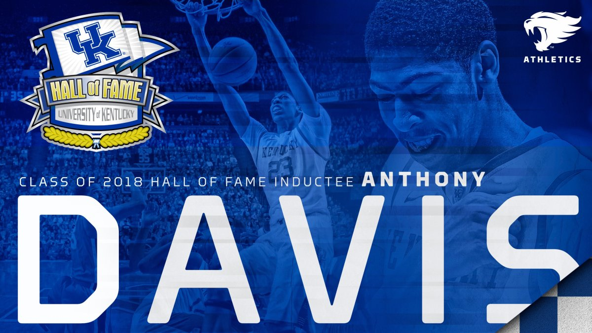 AD is being inducted into the UK Athletics Hall of Fame