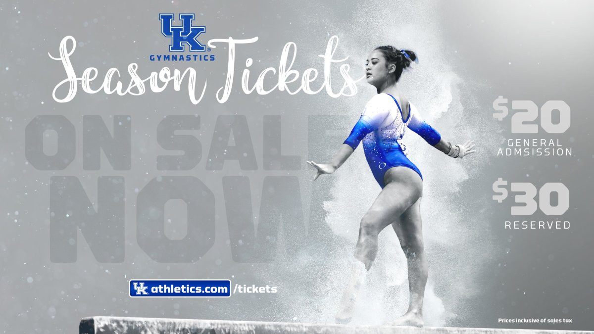 Tickets for Kentucky Gymnastics