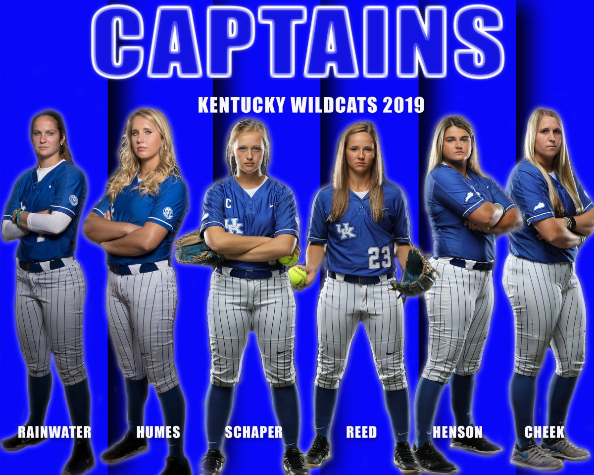 Kentucky announces 2019 Softball captains