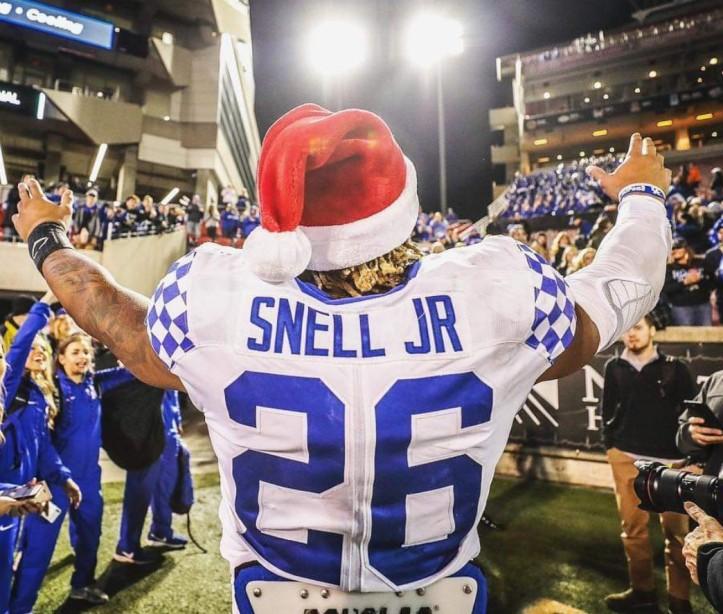 ukfansalldayUnfinished Business? Benny Snell Jr. Needs One Hundred & Seven Yards….